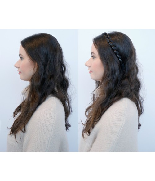 Lily Two Strand Braided Headband