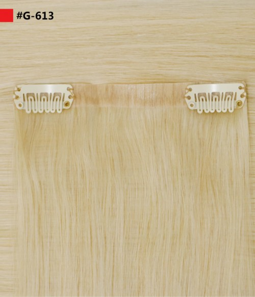 """Ashley 160G 20"""" Invisible Clip-in Remy Human Hair Extension"""
