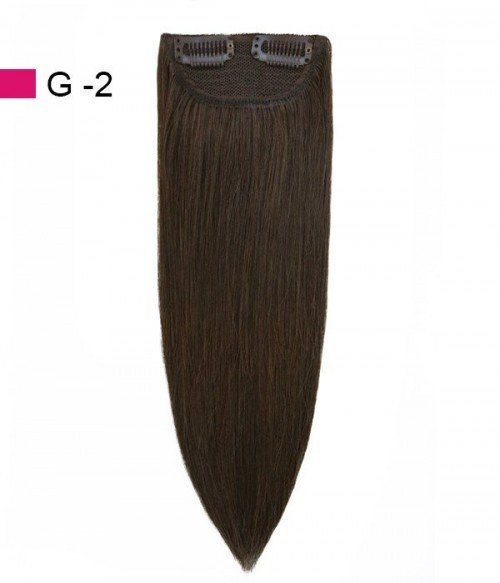 """2""""*3.5""""  Molly Large No Track Clip in Hair Piece"""