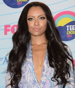 Katerina Graham Long Wave Black Indian Remy Human Hair Full Lace Wig LCF026