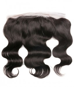 "13""x4"" Body Wave Brazilian Remy Human Hair Lace Frontal"