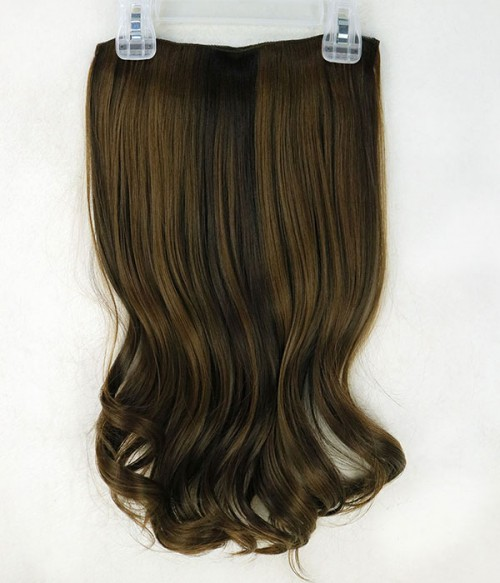 """Aurora 18"""" 5 Pieces Blow-Dry Wavy Clip-In Synthetic Hair Extensions"""
