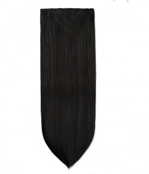 """Jasmine 18"""" 5 Pieces Silky Straight Clip-In Synthetic Hair Extensions"""