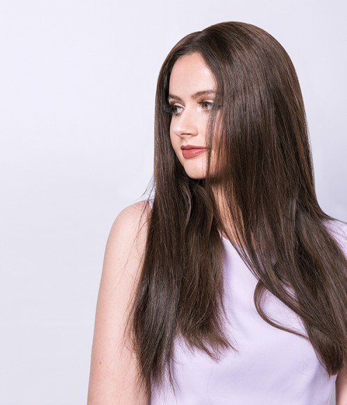 """Ariel 18"""" 5 Pieces Natural Straight Clip-In Synthetic Hair Extensions"""