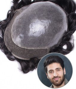 Oceanus --Omini lace Hair Replacement System for Men