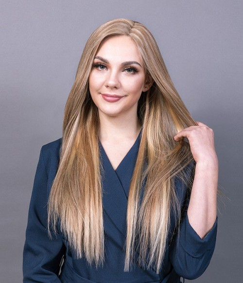 "8.5""*9""  Virgin Remy Human Hair Mono Topper"