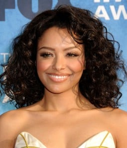 Katerina Graham Medium Curly Black Indian Remy Human Hair Full Lace Wig LCF005