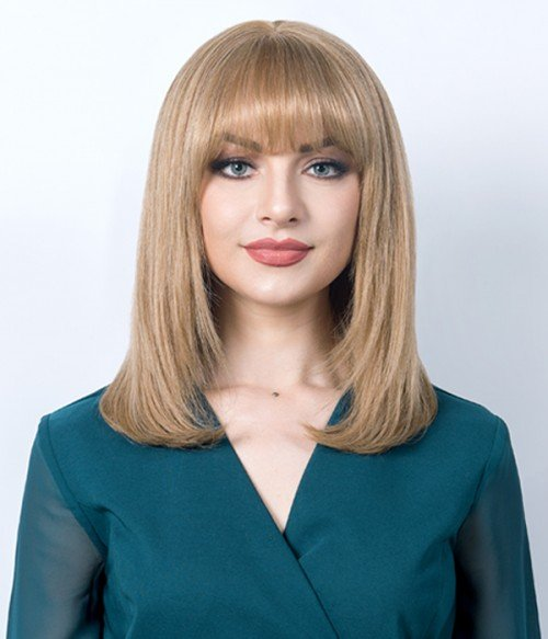 603-Moonlite Blonde-Mixed Blend of Chestnut Brown and Beige Blonde