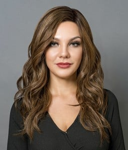Perfection | Silk Top Brunette Balayage 100% Hand-tied Human Hair Wig | Lace Front