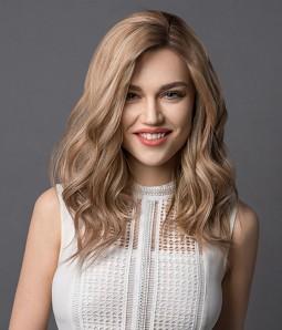 "6""x7"" Bella   Full Silk Remy Human Hair Topper"