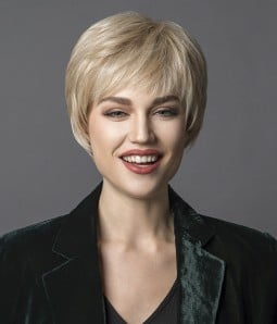 Talya | Mono Top Synthetic Wig Heat Friendly | Short Style