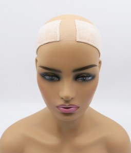 Velvet comfort adjustable lace wig grip headband