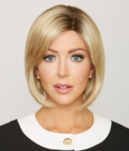 Jenny | Mono Top Synthetic Wig | Short Angled Bob