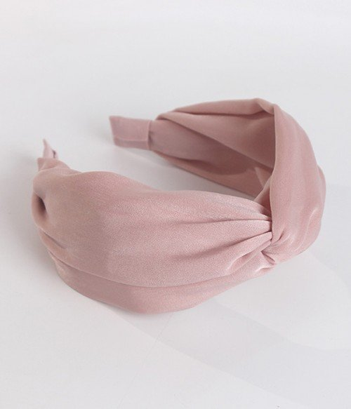 Twist Solid Bow Headband