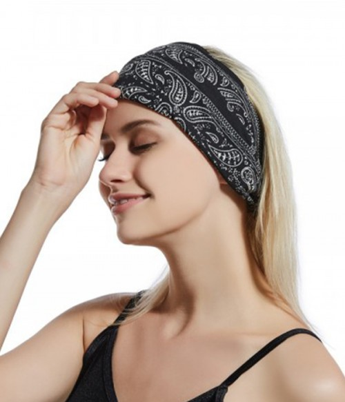 Stretchy Multi-Use Hairband | Elastic Bandana | Headwrap