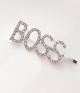 Rhinestone Letter Hair Clips Set (7 pcs)