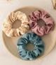 Retro Velvet Macarons Scrunchies