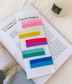 Pastel Color Bobby Pins Set (50 pcs)