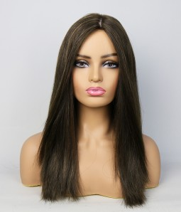 Maya  Remy Human Hair Injected Skin Top Jewish Wig | Clearance