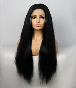 Straight 100% Human Hair Lace Front Wig| Average Size | Clearance