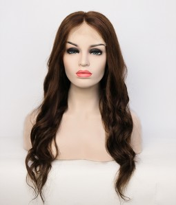 Wavy 100% Human Hair Glueless Full Handtied Lace Wig| Average Size | Clearance