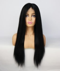 Straight 100% Human Hair Full Handtied Lace Wig| Average Size | Clearance
