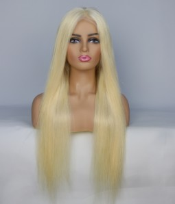 Lauren Conrad Blonde Color Remy Human Hair Lace Wig