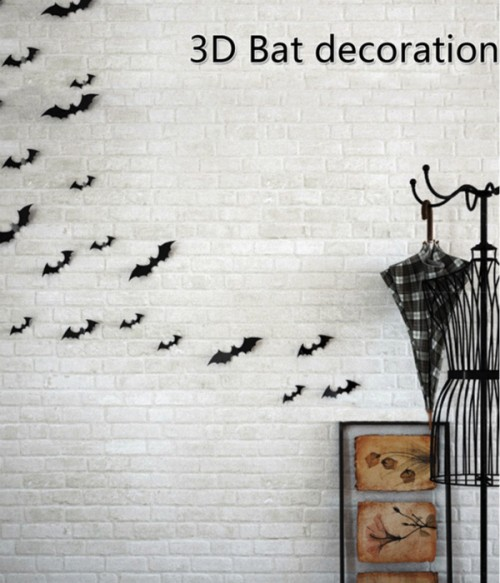 Limited Halloween 3D Bat Sticker | Wall Decoration(12 pcs)