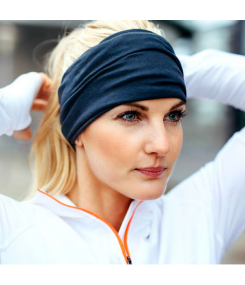 Solid Stretchy Sport Headband | Headwrap