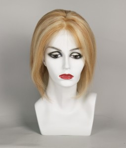 Presley Remy Human Hair Lace Front/Mono Glueless Wig