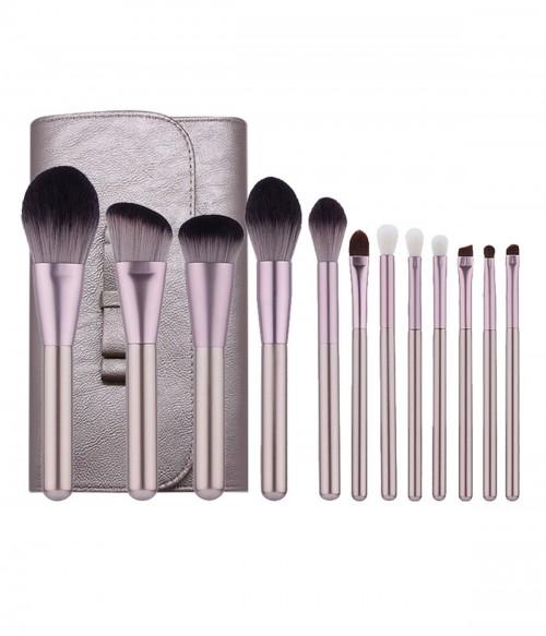 Artis 12 Piecs Duo-fiber Makeup Brush Set + Bag
