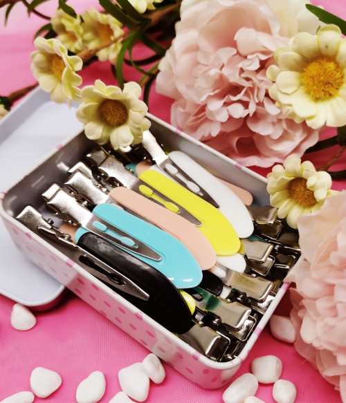 20PCS Colorful No Bend Hair Clips | Makeup Application | Same Style of Kim
