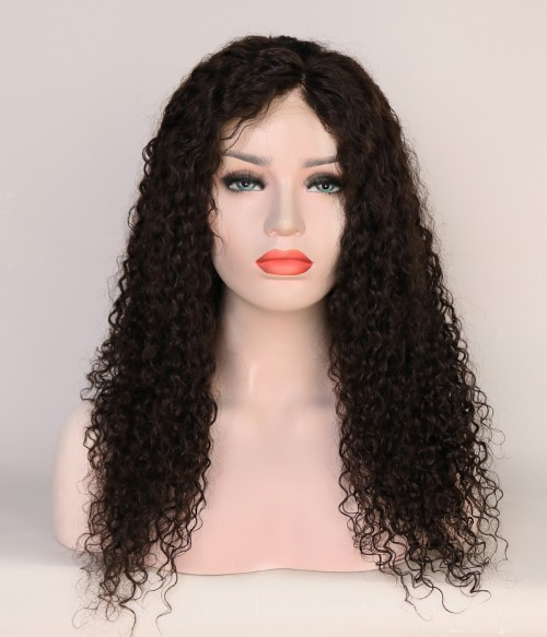 Deep Curly 100% Human Hair Lace Wig