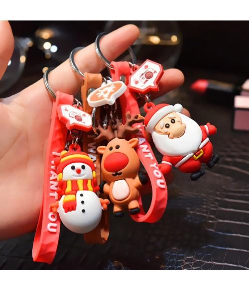 Limited Edition Christmas Keychains | Christmas Ornaments| Santa Claus | Reindeer