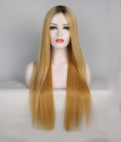"""Color: 0423-CS- 24""""-Lace Front Cap-  150%"""
