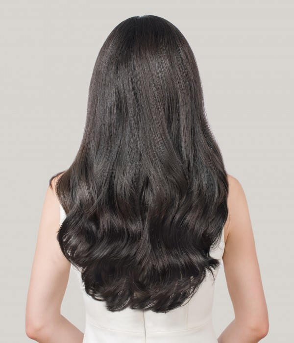 5 Pieces Invisible Clip-in Human Hair Extensions