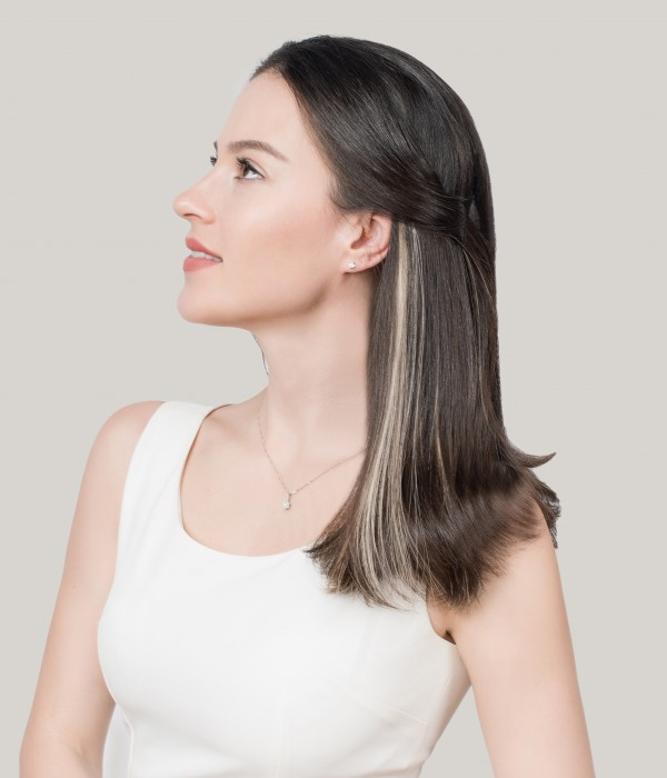 15g Single Piece Classic Clip-in Human Hair Extension