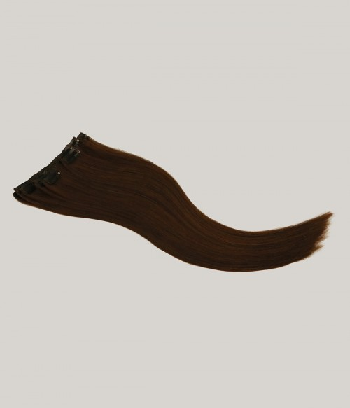 """18"""" 7 Pieces Straight Clip In Virgin Remy Human Hair Extension E71804"""