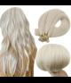 "Micro Keratin U-Tip 18"" 30g Natural Straight Human Hair Extensions"