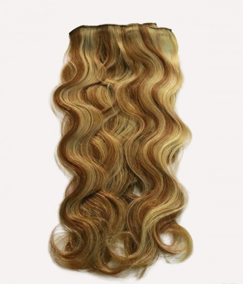 """16"""" 8 Pieces Body Wave Clip In Remy Human Hair Extension"""