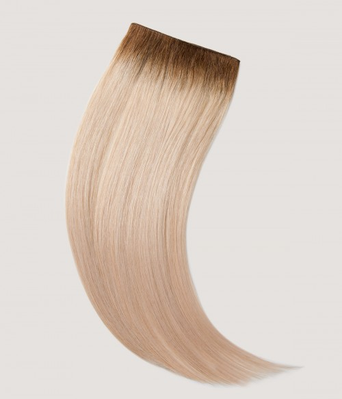 """Volume Weft 18"""" 50g Natural Straight Human Hair Extensions"""
