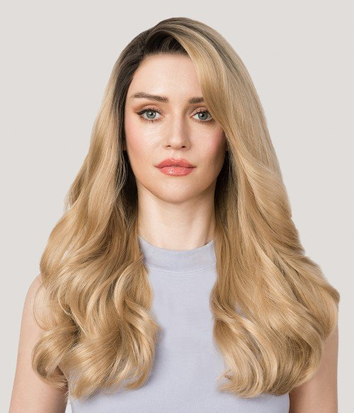 Madison | Honey Blonde Layered Synthetic Lace Front Wig