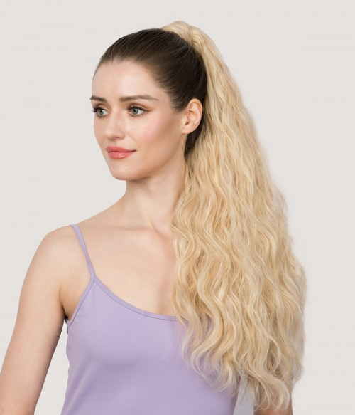 """Lana 25"""" Curly  Wrap around Synthetic Ponytail Extension"""