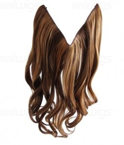 "16"" Wave Synthetic Flip In Hair Extension E51006-Y-21"