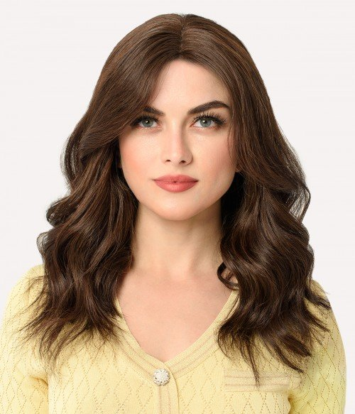 Alexandra | Middle Part Human hair Lace Wig