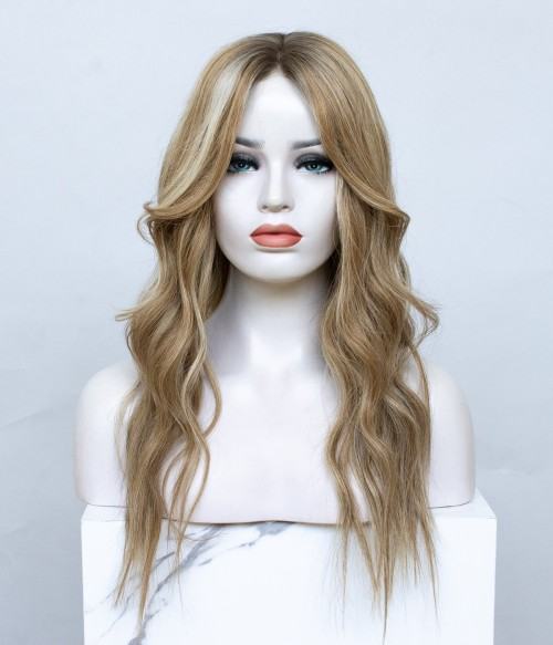 Hanna Full Hand-tied Lace Human Hair Wig   Pre-cut Lace