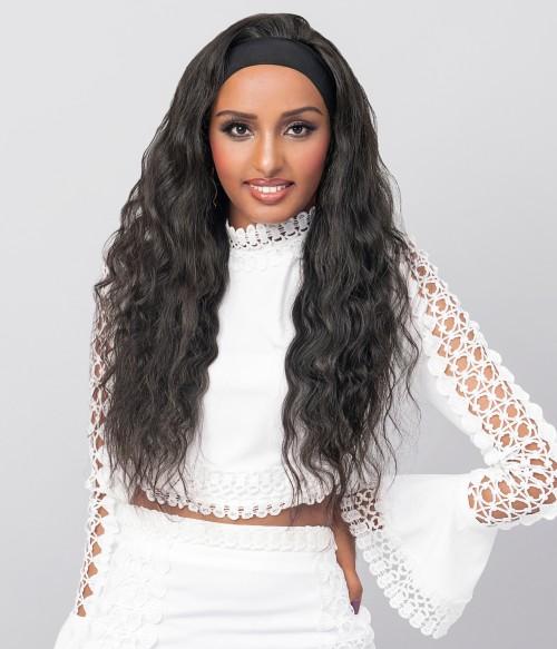 Thallo | Body Wave 100% Human Hair Headband Wig