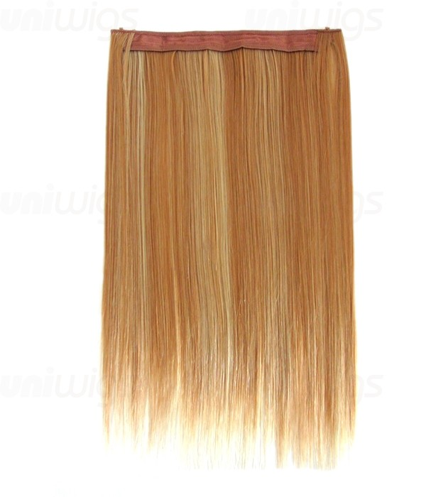 20 Straight Synthetic Miracle Wire Uni Hair Extension E52001 Y 24