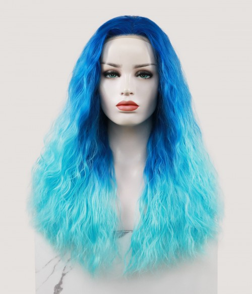 Marine Goddess   Loose Wavy Synthetic Lace Front Wig