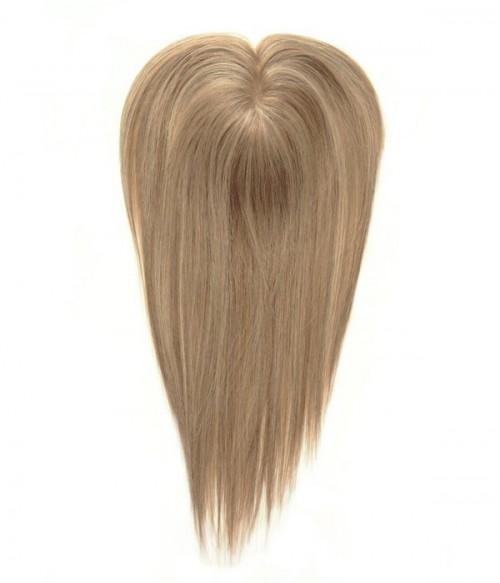 """5""""x2.75"""" Amelia   Full Mono Remy Human Hair Topper"""